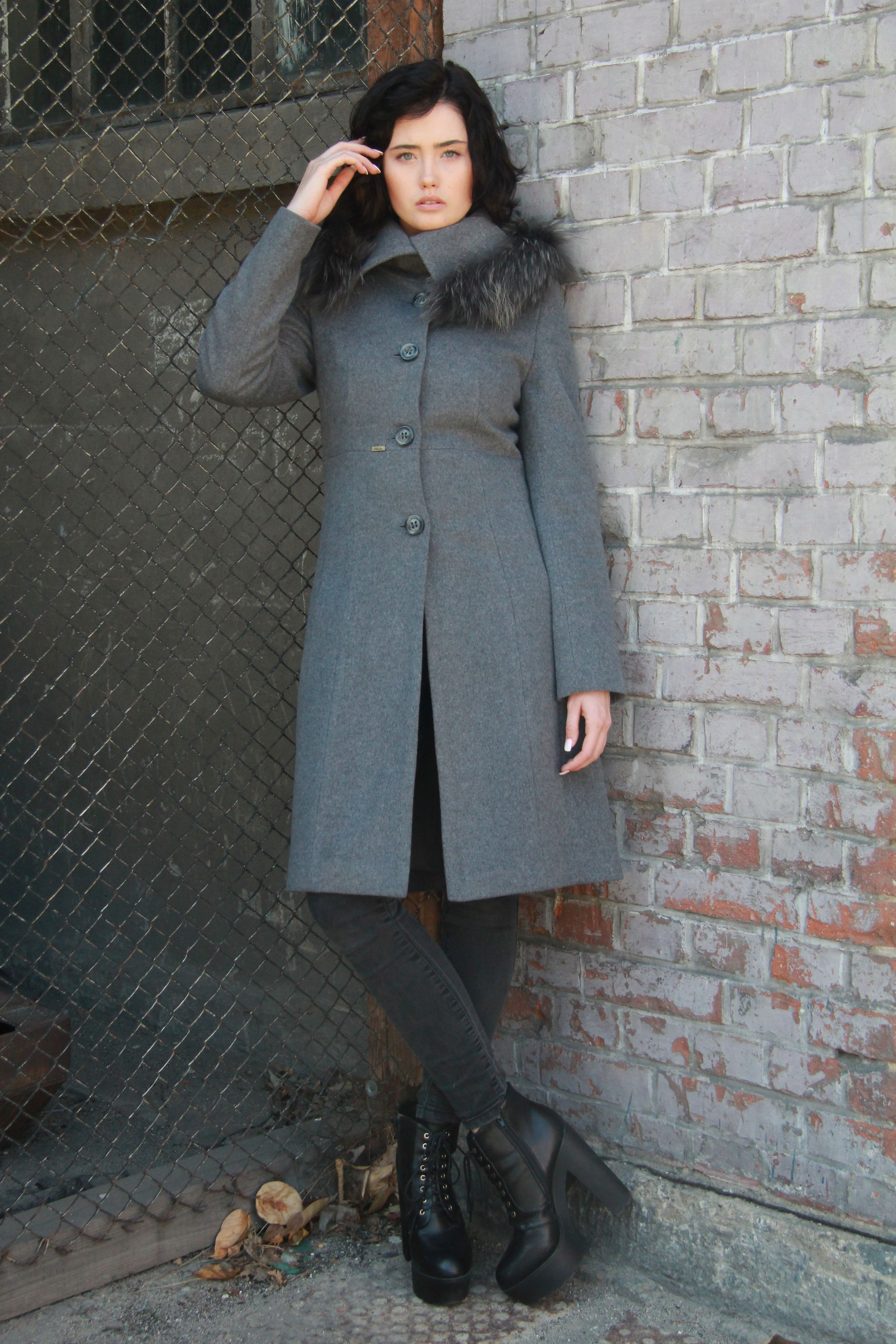 Płaszcz damski AMANDA