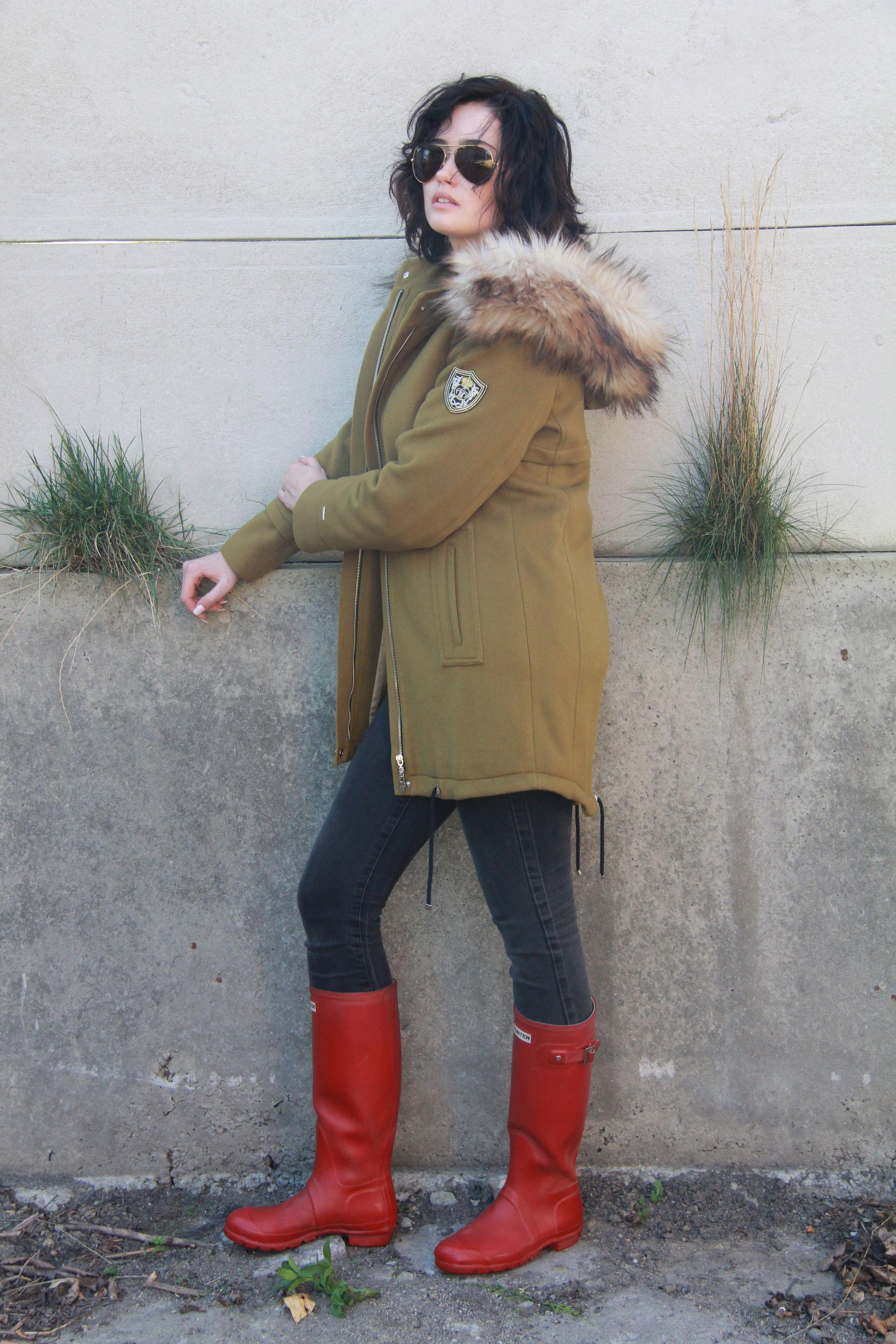 Płaszcz damski JENNY